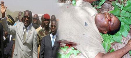 """Gbagbo à la famille de Guéi Robert : """"Préparez-vous à enterrer un homme fin Aout, """""""