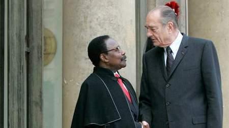 Chirac nie avoir été soutenu financièrement par Bongo