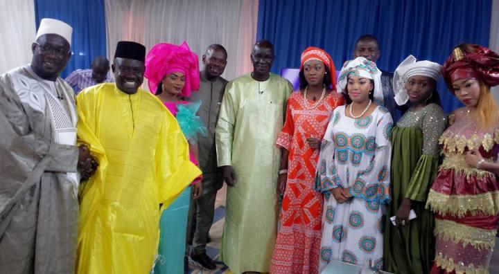 (07 Photos) Daaro de Dinama Nekh et Merry Bey Diouf en mode Ramadan dans les coulisses de Quartier Général...