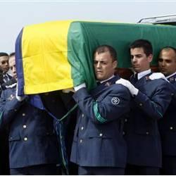 Gabon : Arrivée à Libreville du cercueil du président Bongo Ondimba