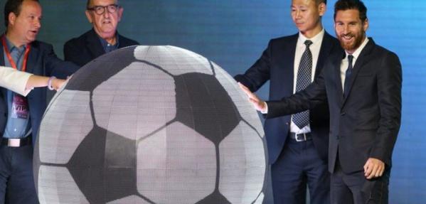 Lionel Messi s'apprête à lancer un grand projet en Chine. Photos