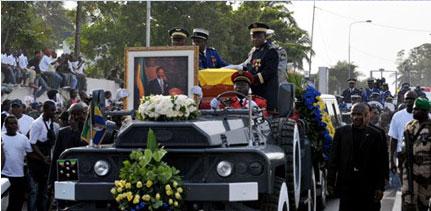 Gabon : Retour au pays de la dépouille d'Omar Bongo