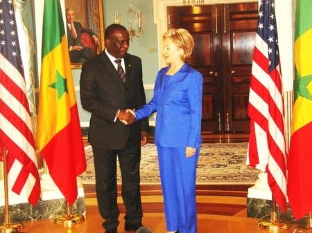 """""""Hillary Clinton garde de bons souvenirs du Sénégal"""""""