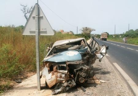 Accidents de la route: 350 personnes tuées par an au Sénégal