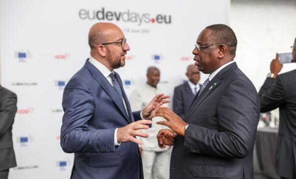 Macky Sall porte la voix du continent à Bruxelles pour le respect des engagements de la COP 21 de Paris