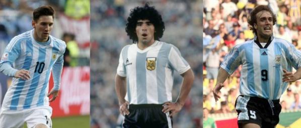 Messi, Maradona, Batistuta... Le top 10 des meilleurs buteurs de la sélection argentine