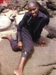 Codou Dieng, Mannequin et fille de Fallou Dieng : Codou Maana
