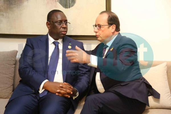 Macky Sall sera reçu par Emmanuel Macron à l'Élysée ce lundi