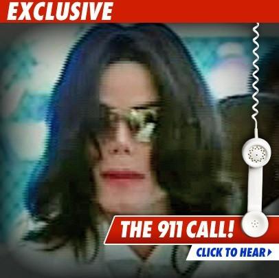 MORT DE MICHAEL JACKSON: ECOUTEZ L'APPEL AU 911 (SECOURS)