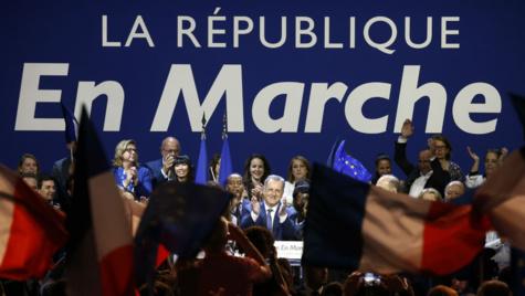 Les candidats d'En marche ! largement en tête, l'abstention à 51,2 %, La République en marche obtiendrait entre 390 à 430 sièges à l'Assemblée nationale