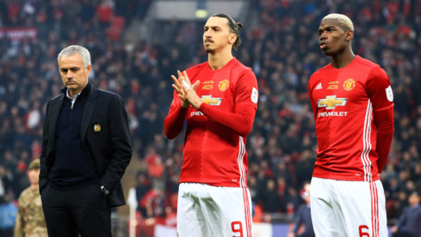 Manchester United : Paul Pogba rend hommage à Zlatan Ibrahimovic