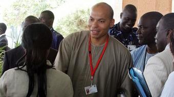 Karim Wade reçu par Khalifa Sall