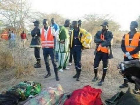 """Fatick: 4 personnes tuées dans une collision entre un bus et un """"7 places"""""""