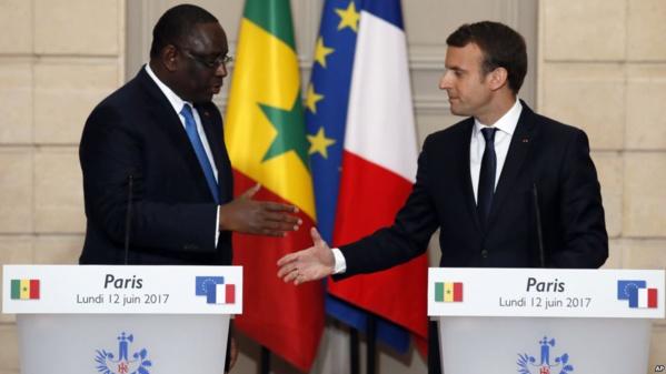 Le Sénégal et la Côte d'Ivoire les premiers pays africains reçus par Macron