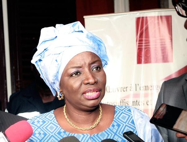 Mimi Touré toujours déterminée à contribuer au développement de l'Apr