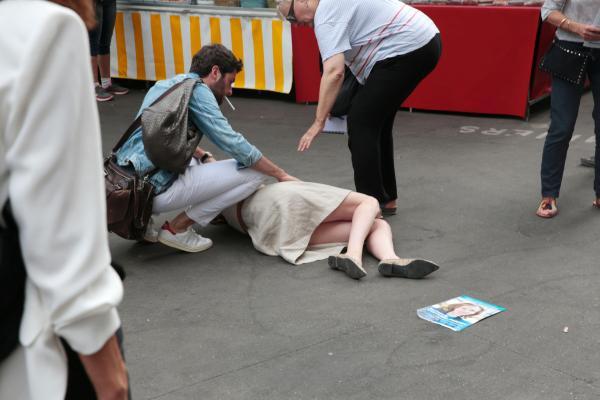 NKM agressée à Paris : un homme interpellé