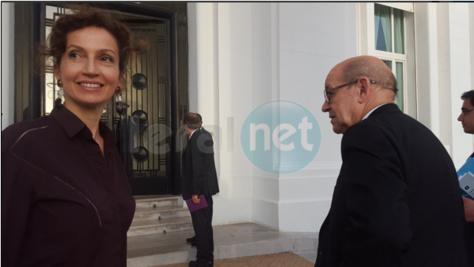 Photos: L'arrivée du ministre français Jean Yves Le Drian et de sa délégation au Palais de la République, peu avant leur audience avec le Président Macky Sall