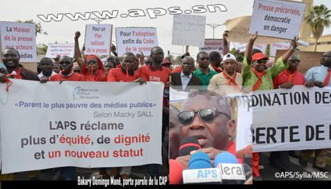 Code de la presse: la CAP dénonce des modifications attentatoires à la liberté d'expression