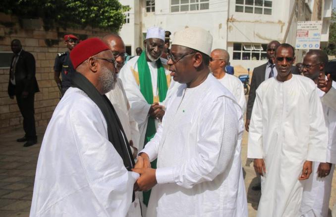 15 photos: Macky Sall a présenté les condoléances de la nation aux familles de Serigne Alioune Mbacké Gaïndé Fatma et Abdoulaye Daouda Diallo