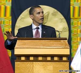 """Obama : """" L'avenir de l'Afrique appartient aux Africains """""""