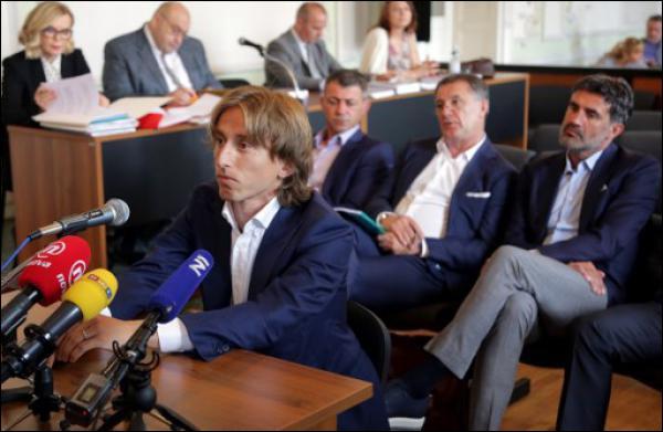 Luka Modric aurait livré un faux témoignage