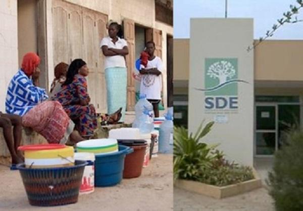 Manque d'eau dans les quartiers Dakar: La Sde entre aveu et assurances