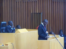 DECLARATION DE POLITIQUE GENERALE DU PREMIER MINISTRE SOULEYMANE NDENE NDIAYE. DEPUIS L'ASSEMBLEE NATIONALE