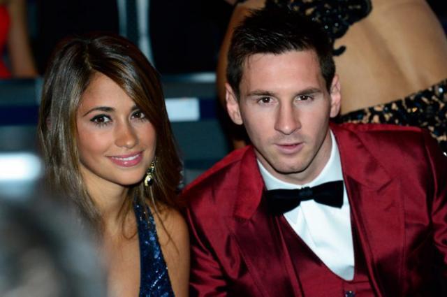Di Maria et Lavezzi au mariage de Messi