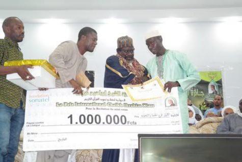 Prix Cheikh Ibrahima Niass pour le récital du Saint Coran: Le jeune Cheikh Mahi Touré a remporté le gros lot