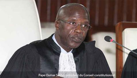 Conseil constitutionnel: les nouveaux membres appelés à inscrire leurs actions dans le respect de la Constitution