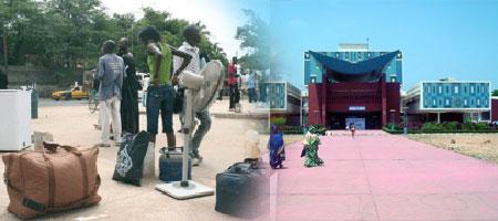 CAMPUS SOCIAL DE L'UNIVERSITÉ DE DAKAR : Les résultats et l'argent retiennent les étudiants