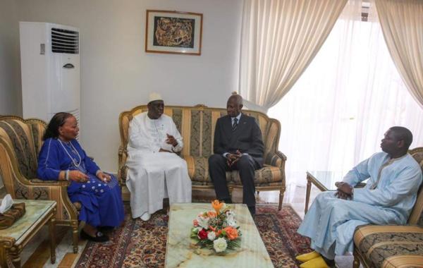 Décès de Habib Thiam : Les condoléances de Macky Sall à Abdou Diouf