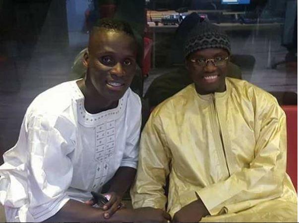 Kara Mbodji en compagnie de Serigne Ousmane Mbacké