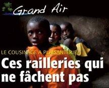 COUSINAGE A PLAISANTERIE AU SENEGAL : Ces railleries qui ne fâchent pas