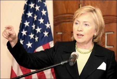 Hillary Clinton au Liberia pour réaffirmer l'appui américain à Mme Sirleaf