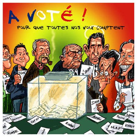 AVIS - Le public apprécie l'ouvrage : Tous votent pour la réaction des gens de l'Anoci