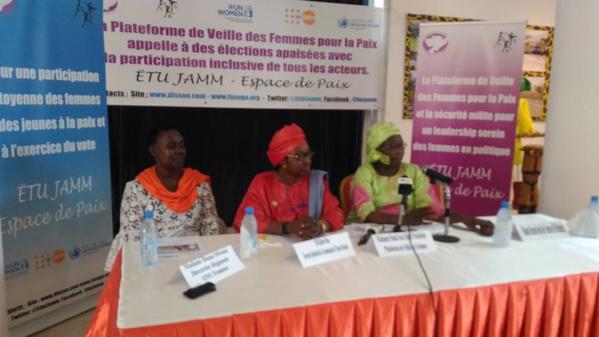 """Penda Seck Diouf, Présidente de plateforme de Veille des Femmes pour la paix et la sécurité : """"La vision de la plateforme est d'instaurer un climat de paix"""