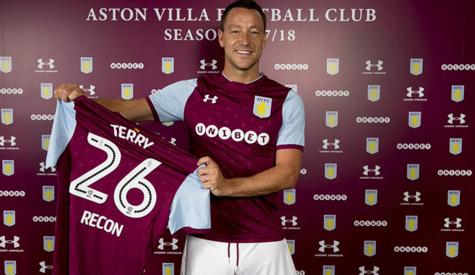Mercato: John Terry signe à Aston Villa (officiel)