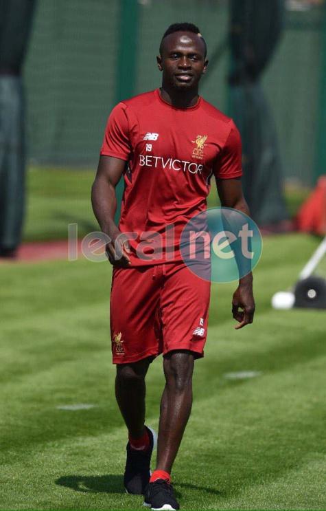 (Images) Premier League: Sadio Mané est de retour à Melwood