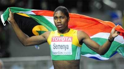 La Sud-africaine Caster Semenya brille d'or sur 800m