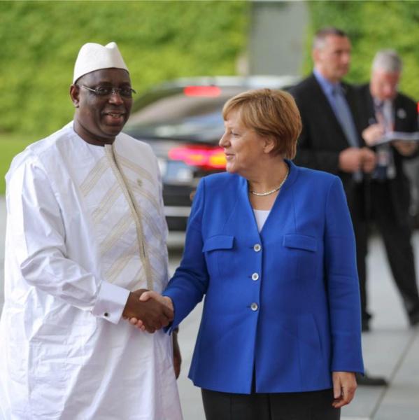 Macky Sall au sommet du G20 à Hambourg