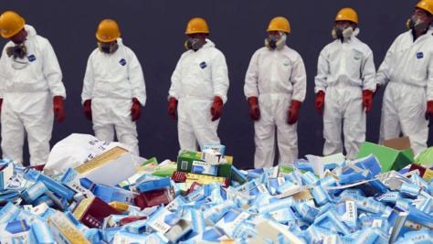 Kaffrine: 60 kg de médicaments illicites, incinérés