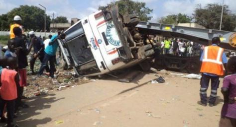 Un accident de véhicule fait un mort à Diouroup