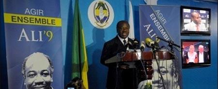 Gabon: Ali Bongo officiellement élu président, incidents à l'annonce des résultats