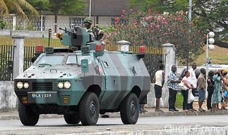 Couvre-feu à Port-Gentil après les incidents de la veille