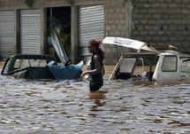 Louga : une forte pluie crée des inondations dans plusieurs quartiers