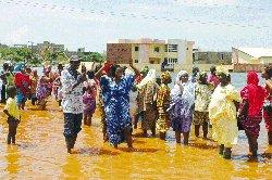 FORTES PRÉCIPITATIONS : Plusieurs sinistrés dans le département de Podor
