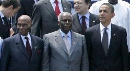 PARCE QUE SON PAYS EST GRAND CONTRIBUTEUR DES FORCES ONUSIENNES DE PAIX  Wade rencontre enfin Obama