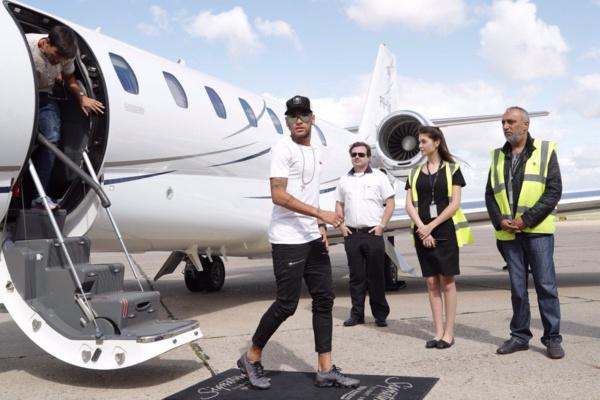 Les premiers images de Neymar à Paris