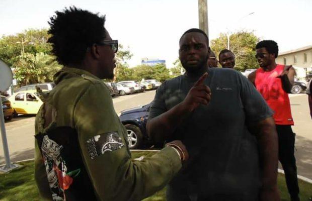 ( 04Photos )  Amadou Sall, le fils du président Macky SALL en toute complicité avec le chanteur Wally Ballago Seck